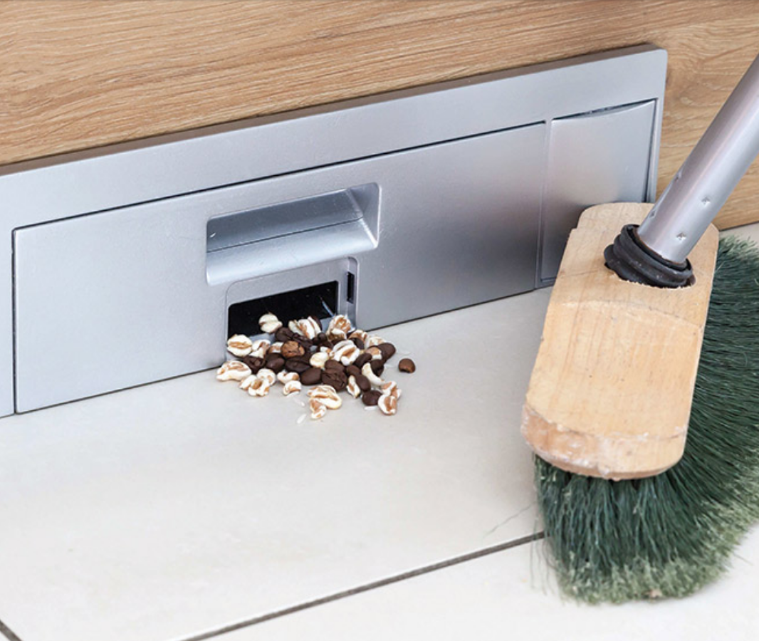Kitchen Vacuum: The Sweepovac Built-In Vacuum Is The Kitchen Gadget You