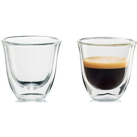 bfcacaf8fd6 DeLonghi Double-Walled Espresso Cups (Set of 2)