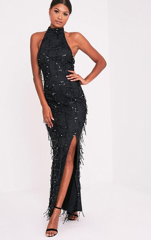 02f791f2229 23 Best Black Prom Dresses 2019 - Dark Formal Dresses for Prom