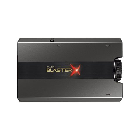1 Sound BlasterX G6 External Sound Card