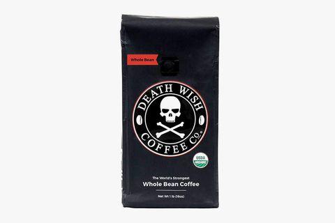 Death Wish Coffee Co. Whole Bean Coffee