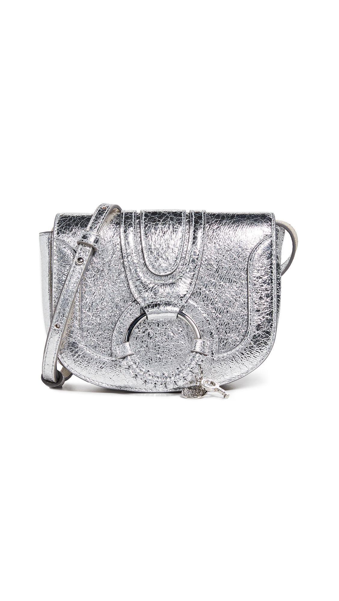 Silver Saddle Bag