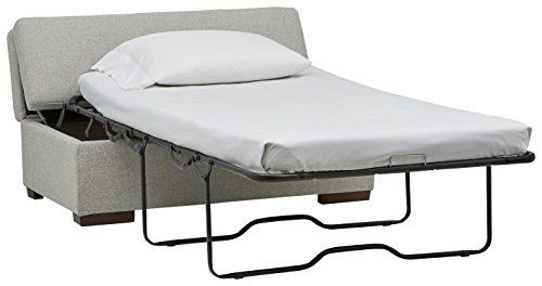 Incredible The Rivet Ottoman Folds Out Into A Bed Customarchery Wood Chair Design Ideas Customarcherynet