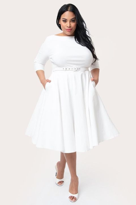10 Cute White Graduation Dresses for Under $100 - Best Cheap ...