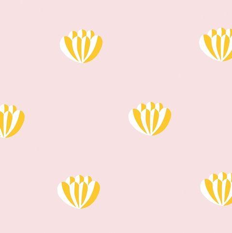 Lotus Wallpaper by Clare Vivier