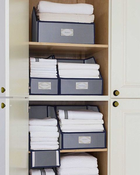10 Best Linen Closet Organization Tips In 2019 How To