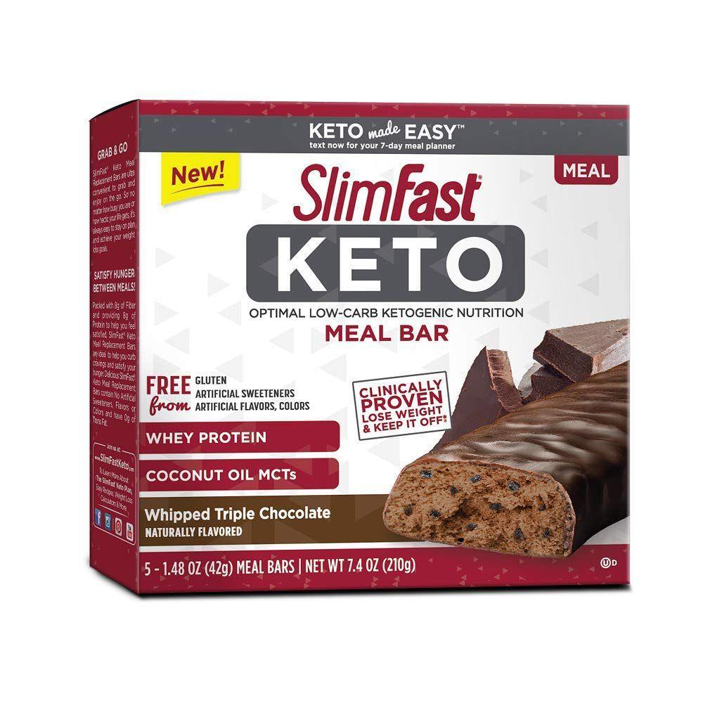 SlimFast Keto Meal Bar (5-Pack)