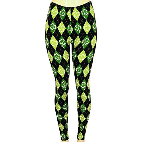6bde85aba5575 10 St. Patrick's Day Leggings You'll Feel Lucky to Wear