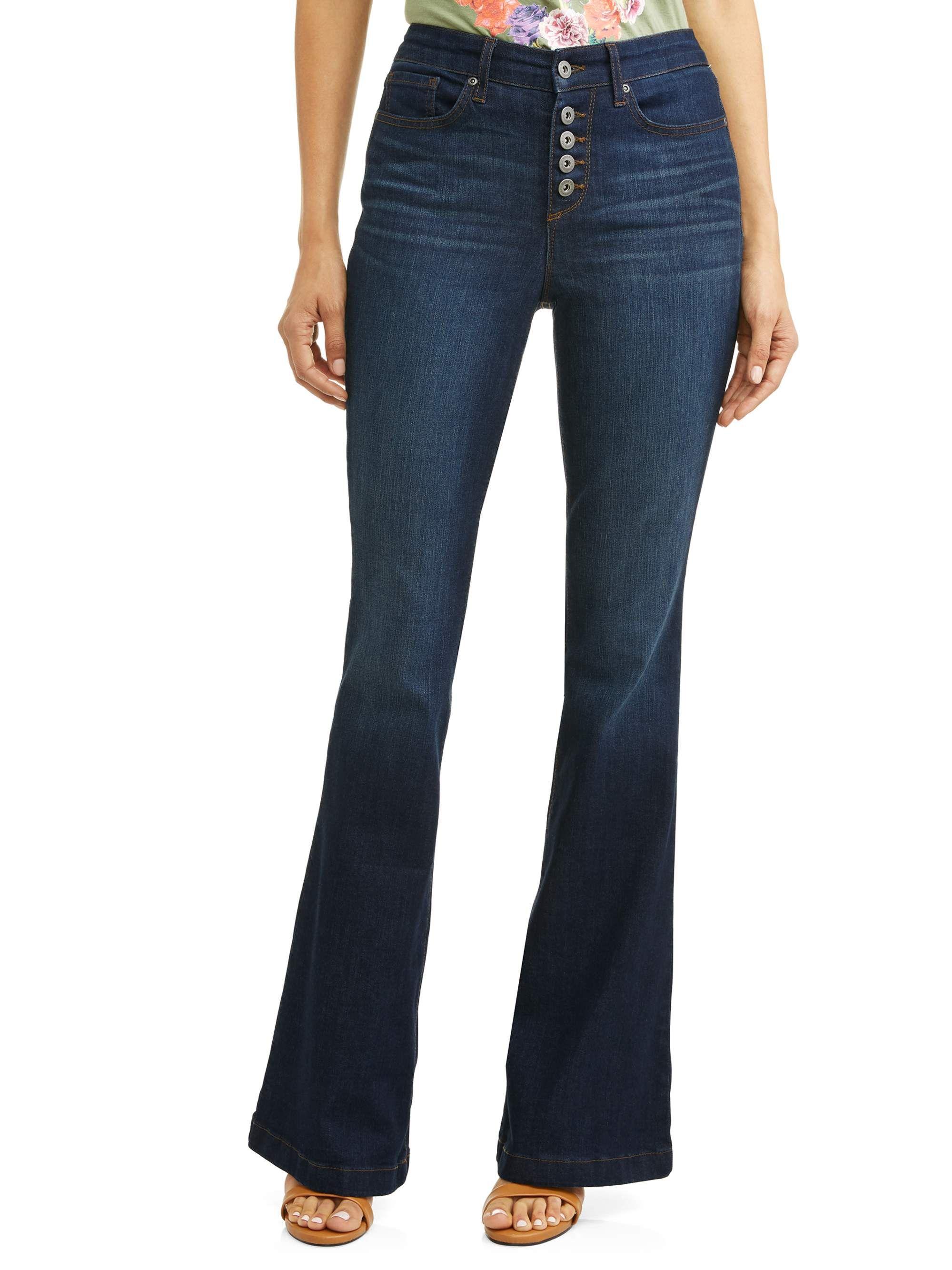 6904171e728b9 High Waist Stretch Flare Jean. Melisa High Waist Stretch Flare Jean Women s  (Dark Indigo Wash). Sofía Jeans by Sofía Vergara ...