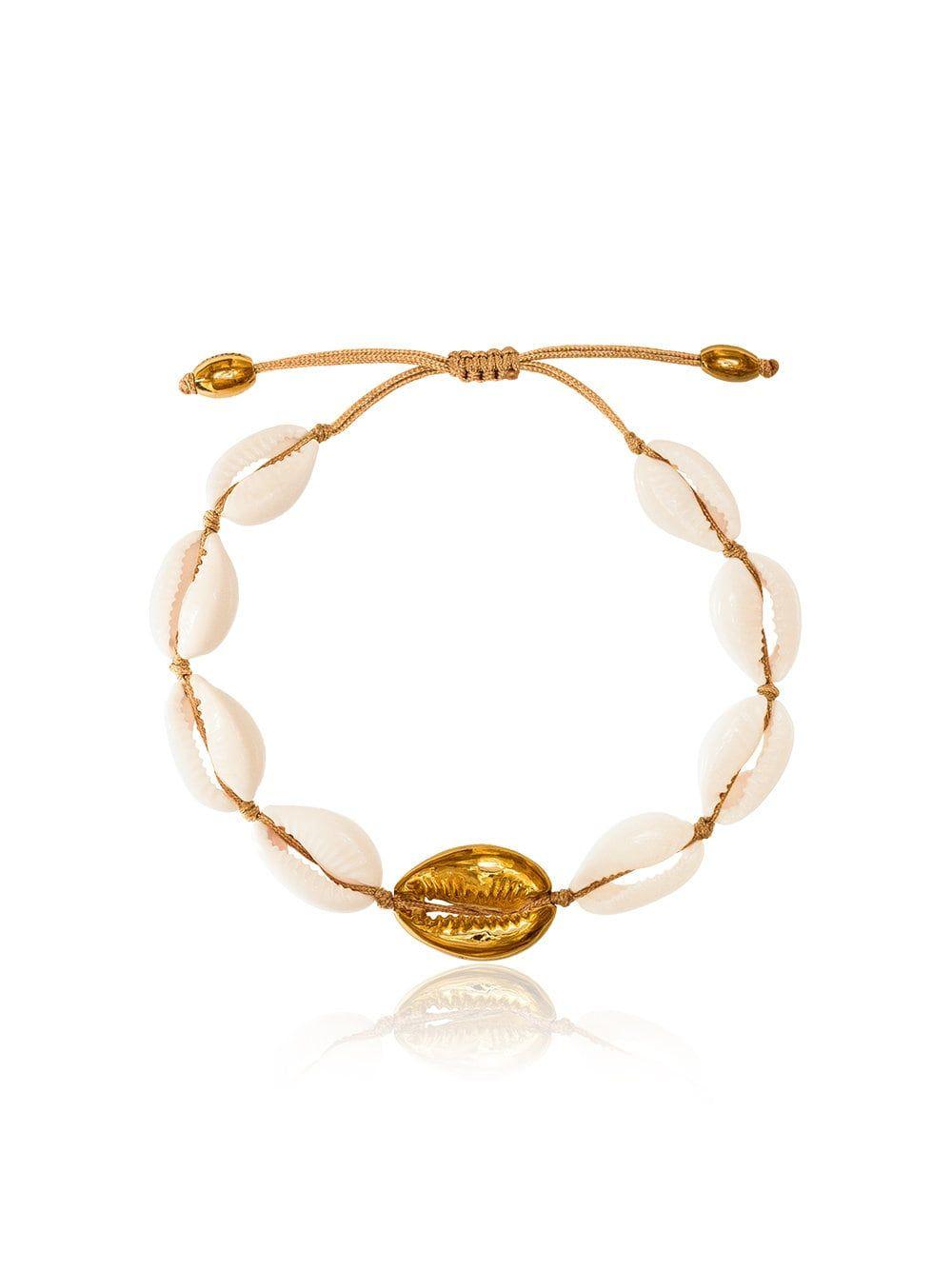Large Puka Natural Shell Bracelet