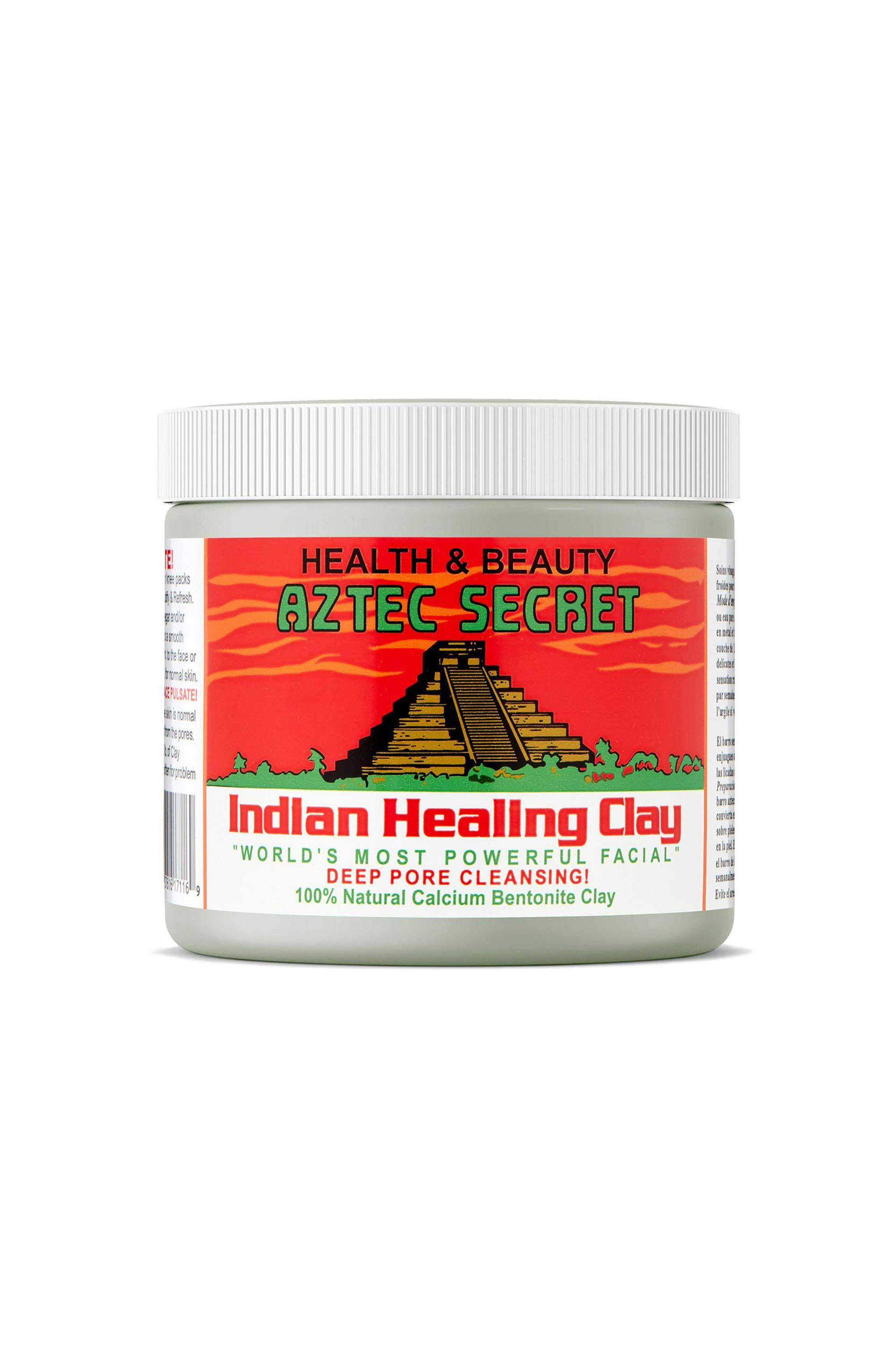 """Indian Healing Clay Aztec Secret amazon.com $10.95 SHOP NOW """"Cult-favorite"""" doesn't even begin to explain the hype around this face mask. Aside from the endless Amazon reviews and YouTube's dedication to celebrating this mask, celebrities like Lili Reinhart have also spoken about its incredible benefits."""
