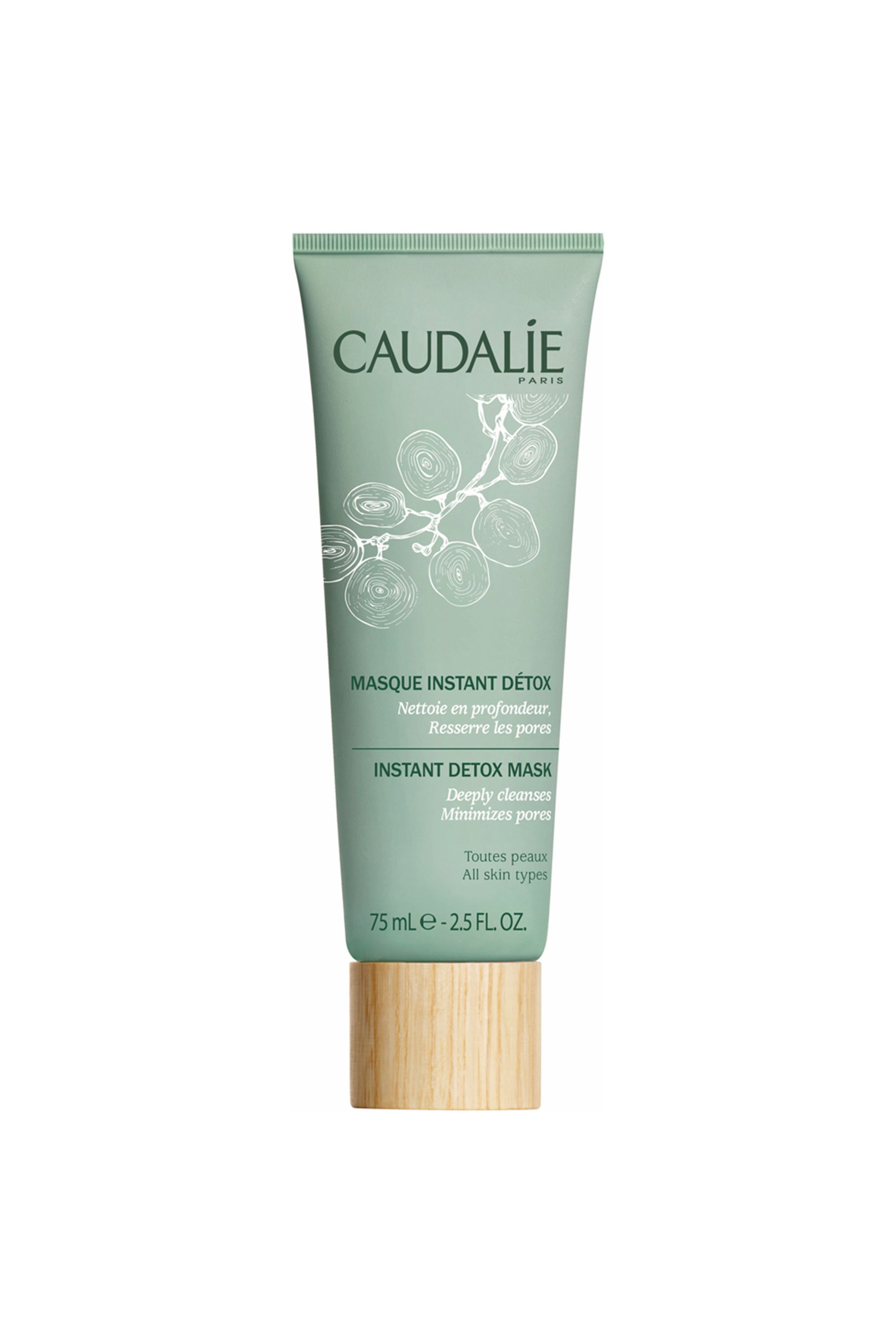 Instant Detox Mask Caudalie amazon.com $26.12 SHOP NOW Caudalie's Instant Detox Mask sucks out all the toxins, congestion, and excess oil in your skin to reveal a healthier and more even skin tone. Black coffee eliminates blackhead-causing dirt, while papaya enzymes naturally brighten skin to reveal your best face yet.