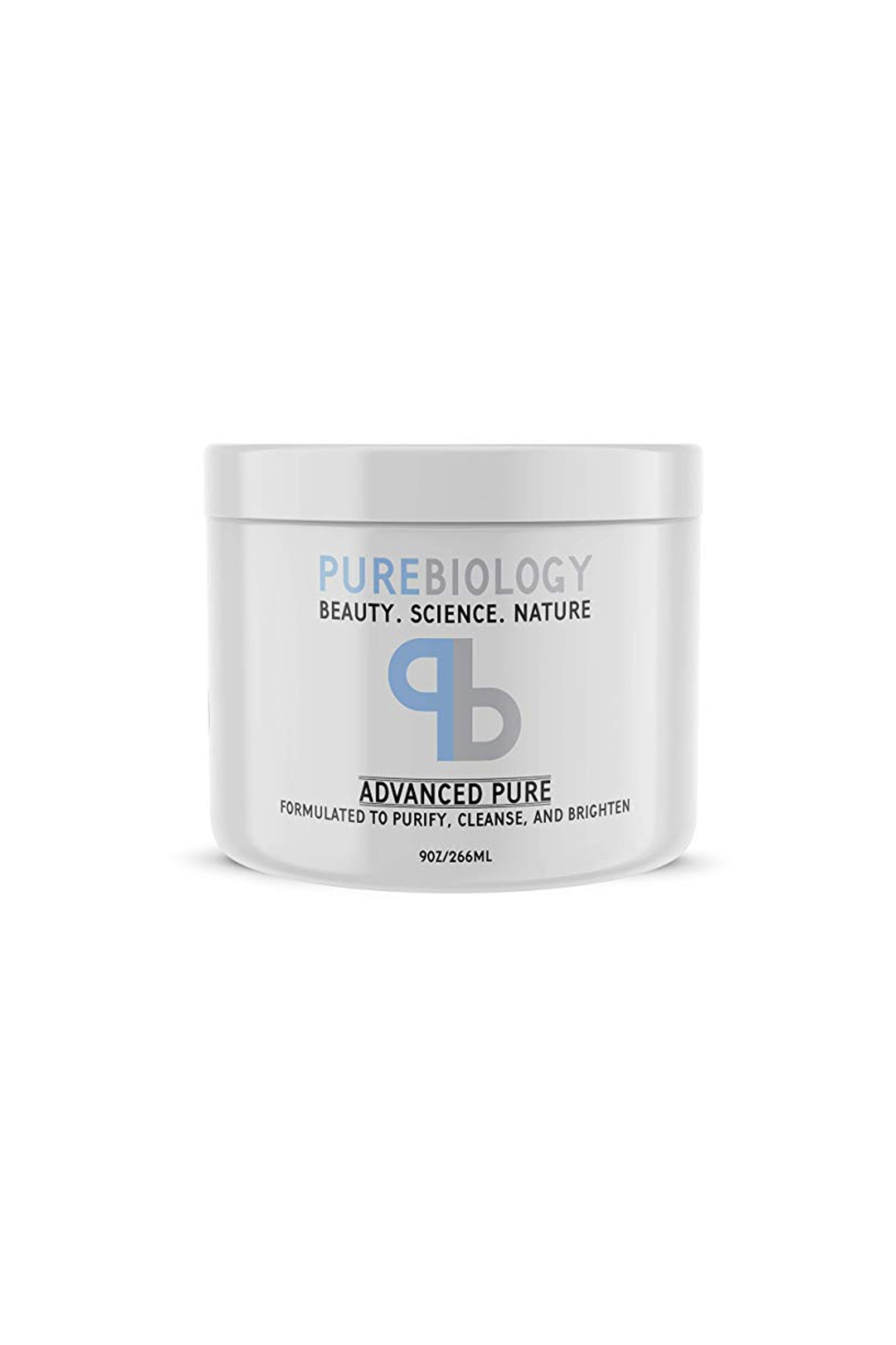 Advanced Pure Face Mask Pure Biology amazon.com $22.90 SHOP NOW Full of exfoliating ingredients like Bentonite Clay, Kaolin Clay, and vitamins A & E, this mask works to rid skin of impurities and reduce the appearance of acne scars, hyperpigmentation, and redness. Users note it can be a bit messy, so prepare in advance for a ruined bathroom sink.
