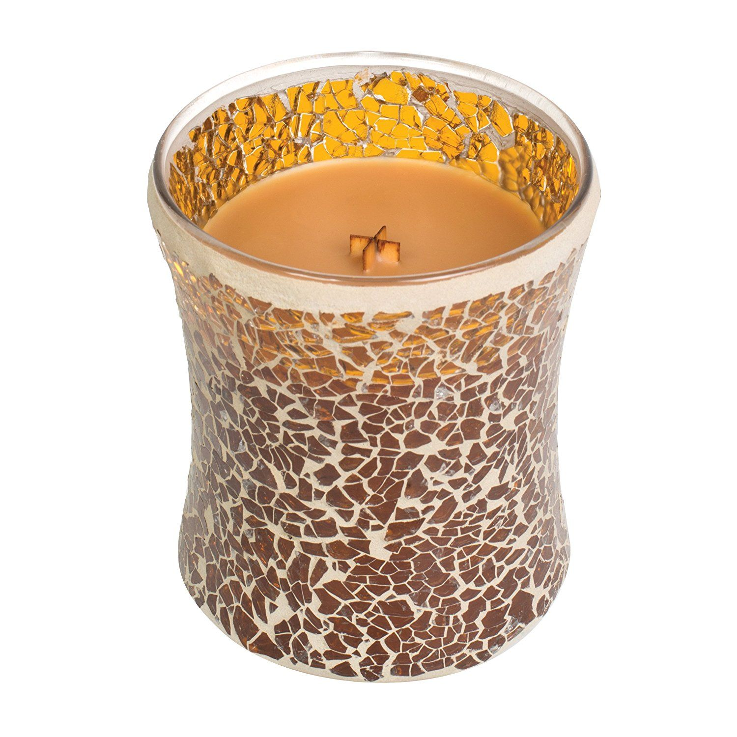 Hot Toddy WoodWick Mosaic Tumbler Candle