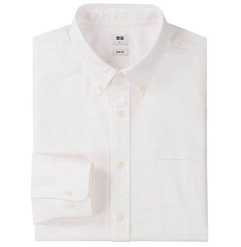 34f6b4b672 Best Oxford White Cloth Button Downs For Men - Best White Shirts For ...