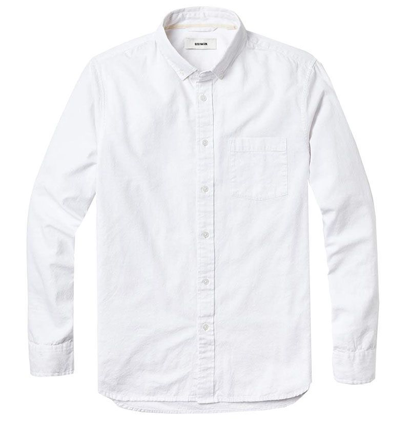 cf7fe645d5 Best Oxford White Cloth Button Downs For Men - Best White Shirts For Spring