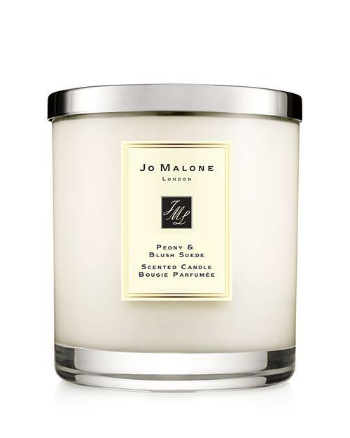 Peony & Blush Suede Luxury Candle