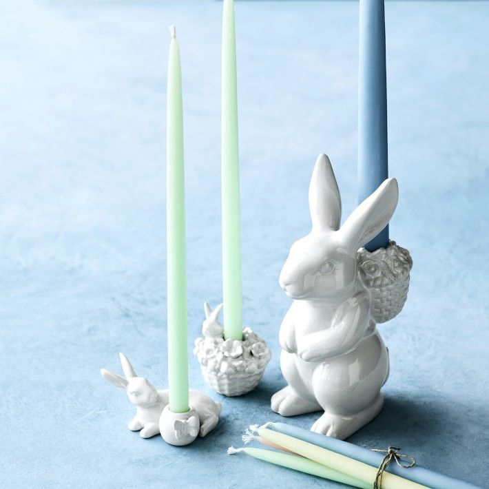 Rose Big Rabbit Candle
