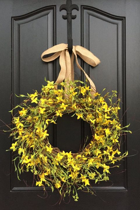 30 Spring Wreaths Easter Amp Spring Door Decorations Ideas