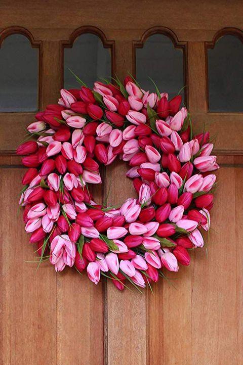 30 Spring Wreaths Easter Spring Door Decorations Ideas