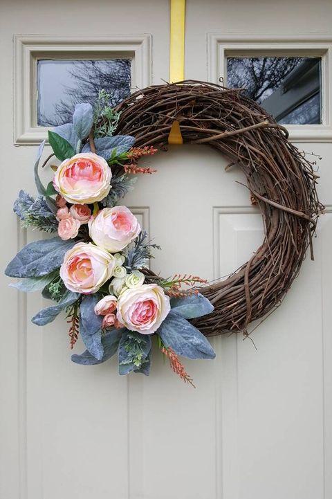 35 Spring Wreaths Easter Spring Door Decorations Ideas