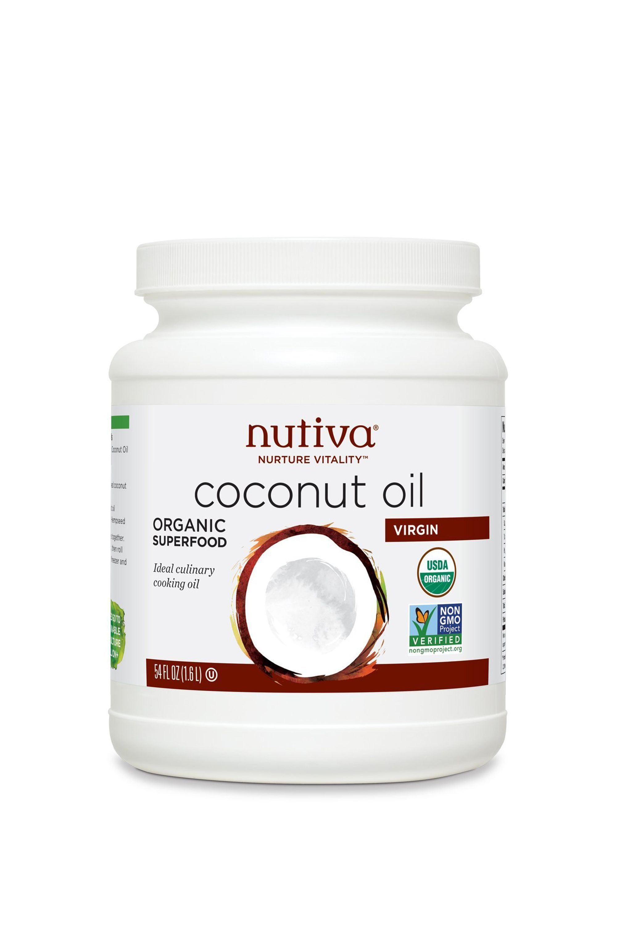 Nutiva Organic Cold-Pressed Unrefined Virgin Coconut Oil Nutiva vitaminshoppe.com $9.99 SHOP NOW An all-natural option. Coconut oil has a number of uses because of its moisturizing properties.