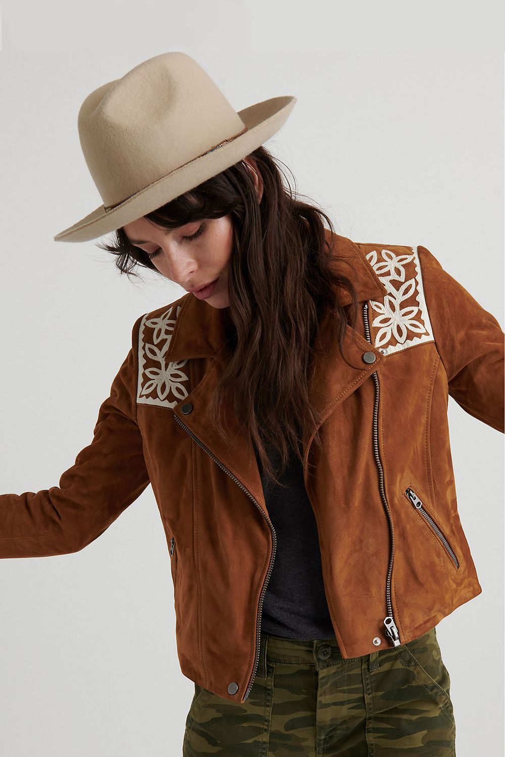 Festival Fringe Lucky Brand $599.00 SHOP IT Coachella may not be your thing, but you can still manifest warm desert vibes with this western fringe jacket.