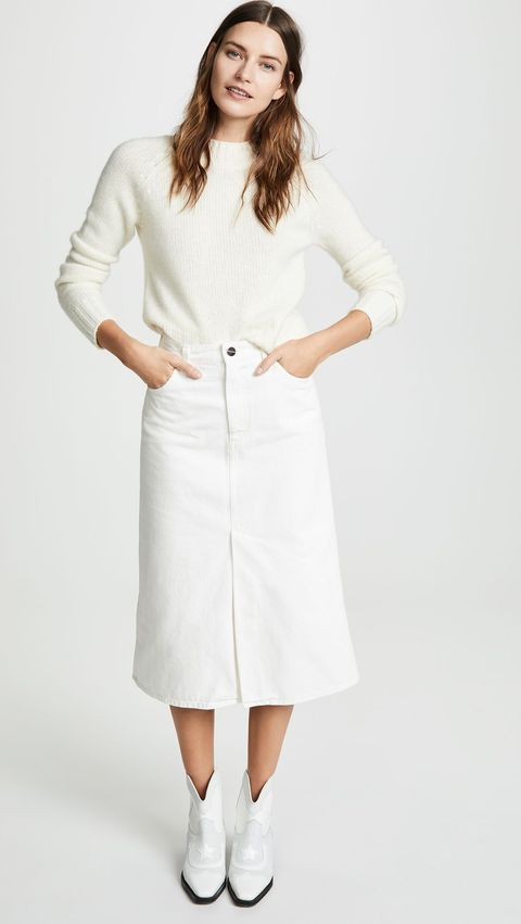 b5931a98fe6 15 All-White Outfit Ideas — Cute Outfit Ideas for Summer 2019