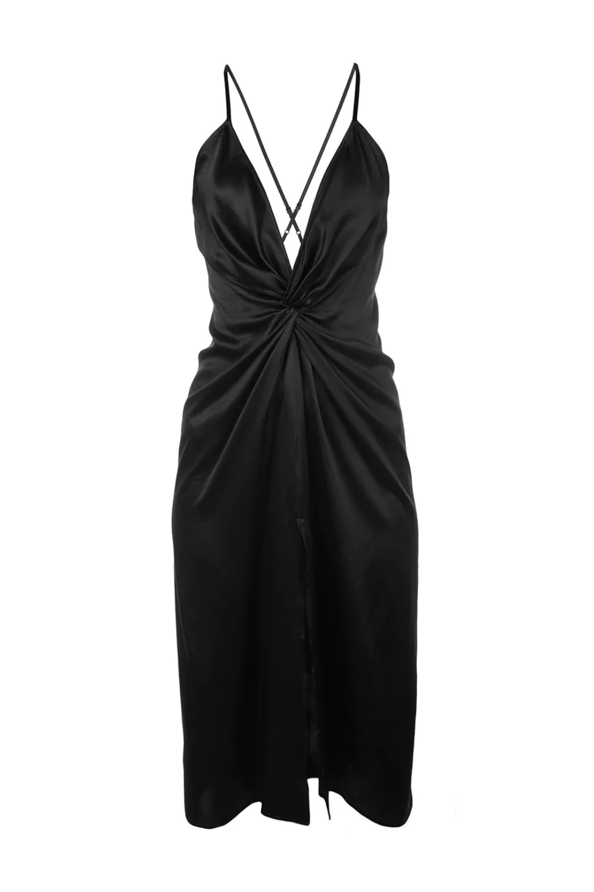 Robertson Satin Dress Reformation farfetch.com $139.00 SHOP NOW A slinky LBD ideal for the singles table.