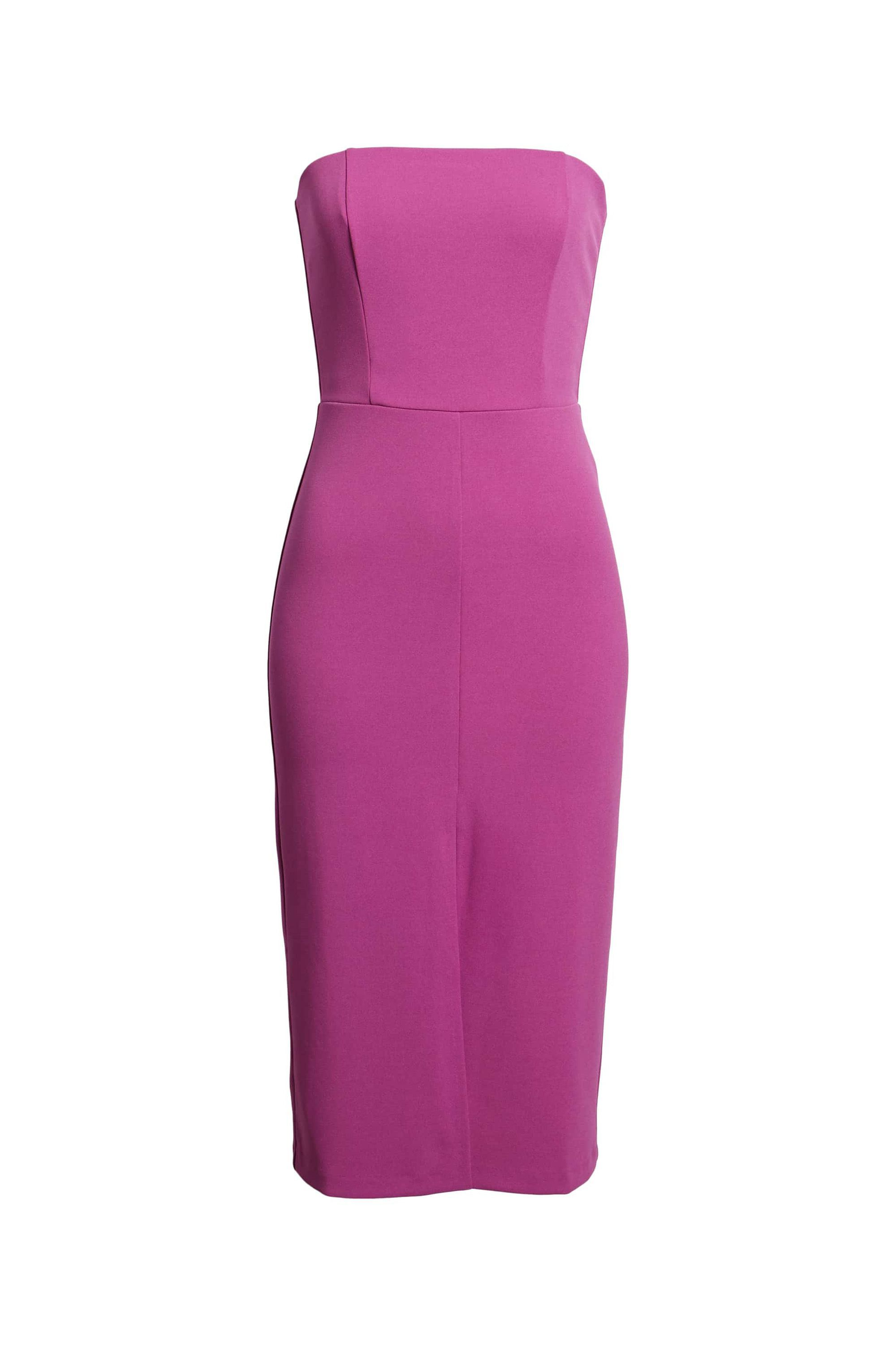 Strapless Midi Dress Leith nordstrom.com $41.40 SHOP NOW This raspberry hue will flatter most complexions.