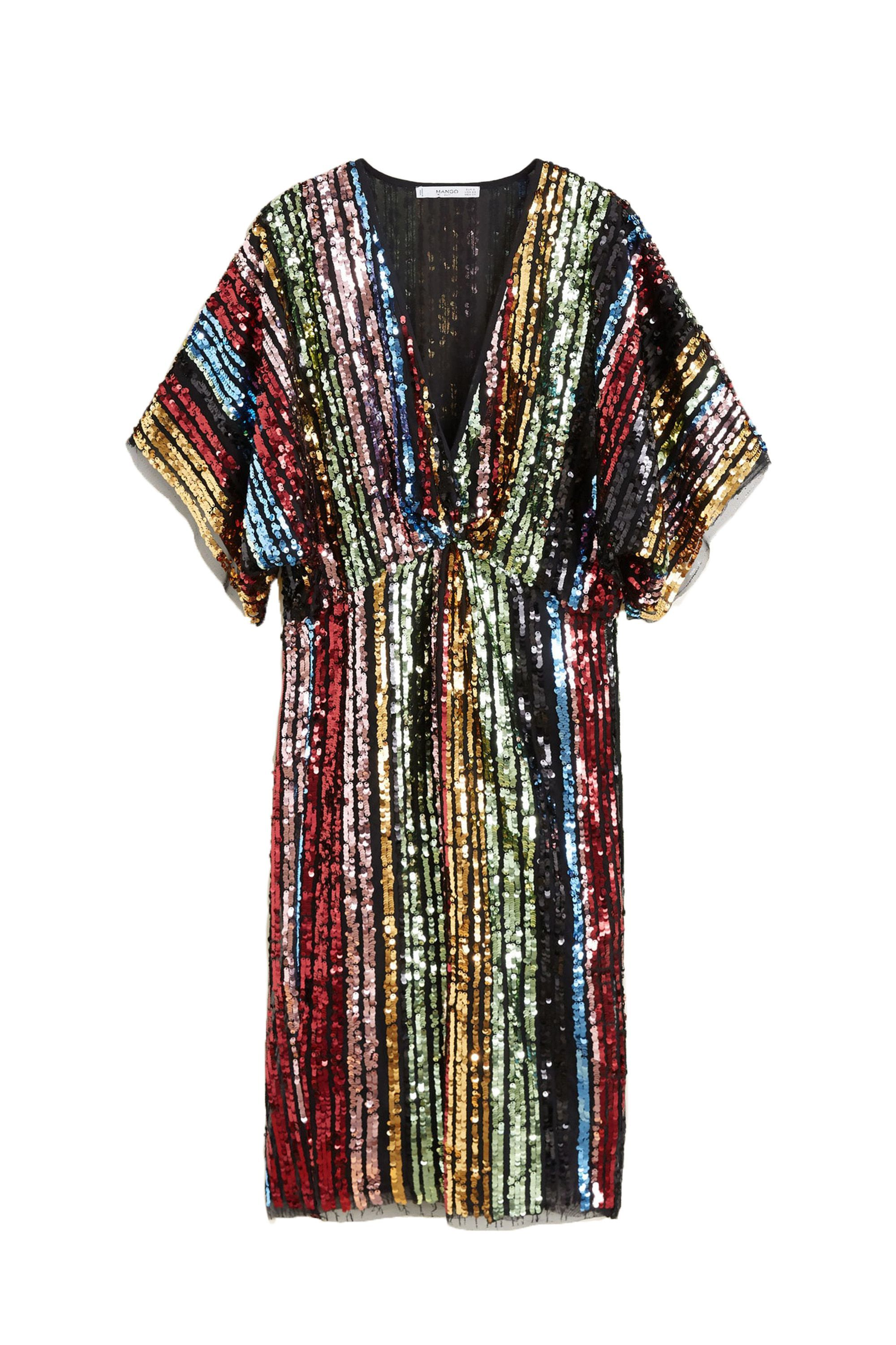 Sequined Gown Mango mango.com $59.99 SHOP NOW Rainbow sequins are always a good idea.