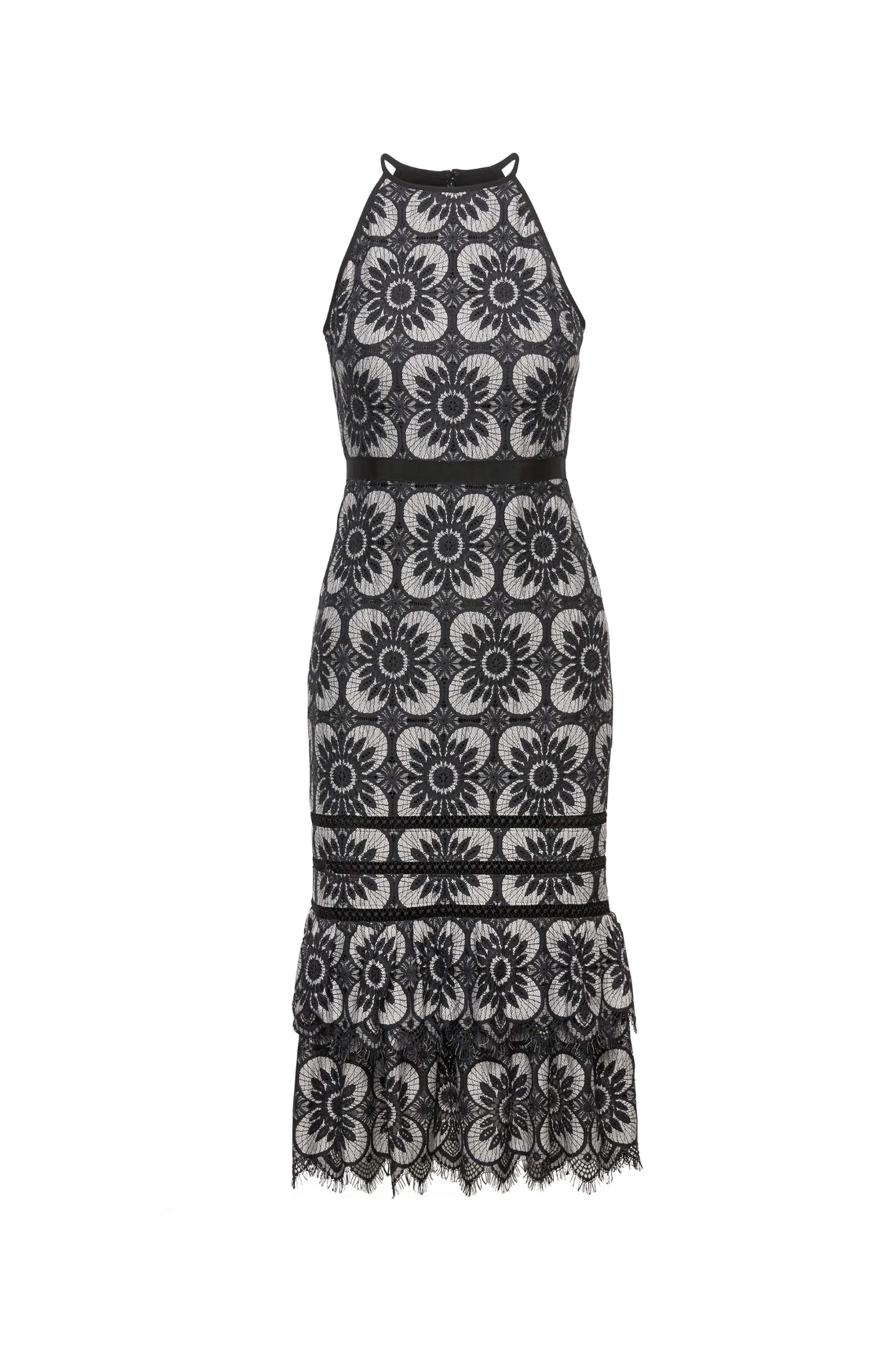 Lace Midi Dress Banana Republic bananarepublic.gap.com $80.99 SHOP NOW A form-flattering silhouette will look amazing on the dance floor.