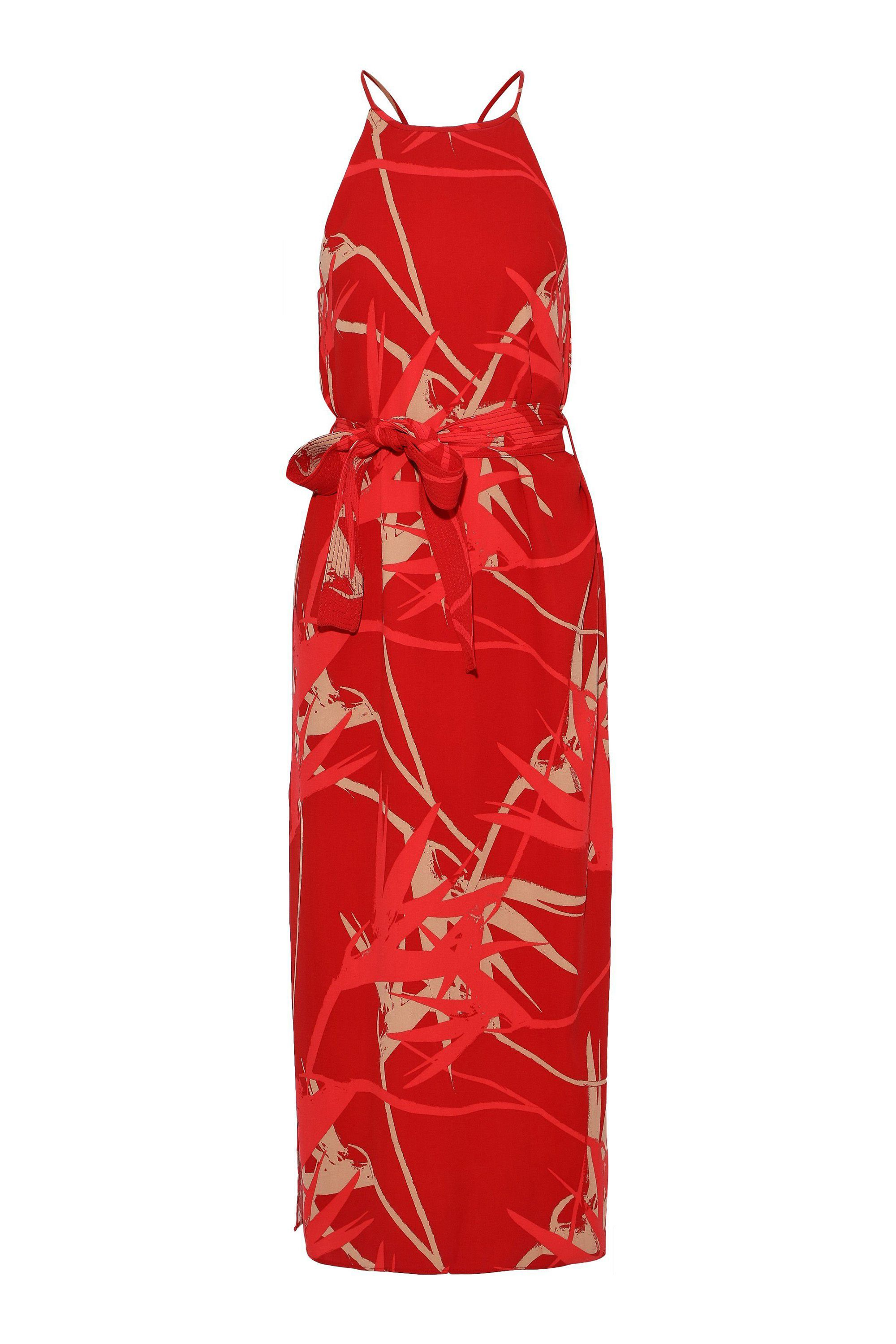 Belted Midi Dress Halston Heritage theoutnet.com $121.00 SHOP NOW A botanical print for those averse to florals.