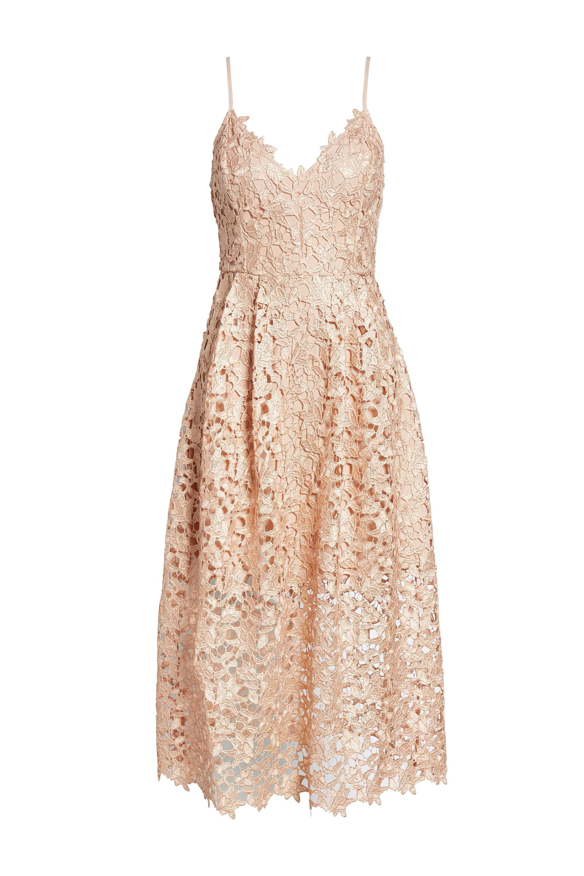 Lace Midi Dress Astr the Label nordstrom.com $53.40 SHOP NOW It's not white, okay?