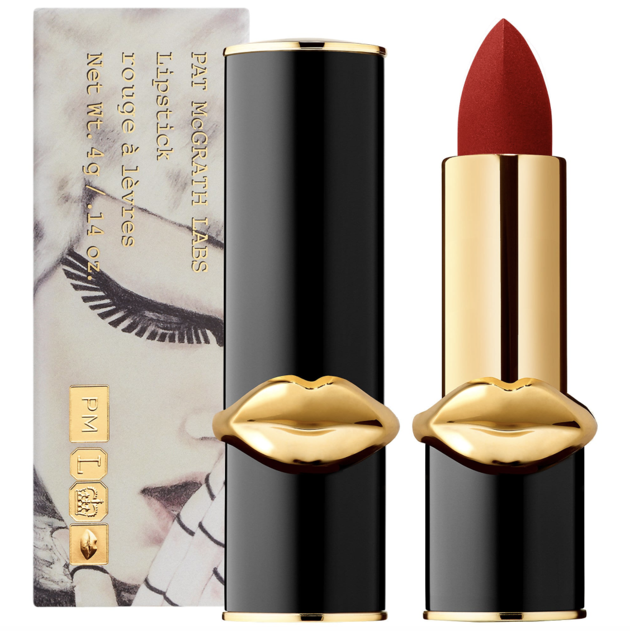 MatteTrance™ Lipstick in Elson PAT McGRATH LABS sephora.com $38.00 SHOP NOW Named after model and McGrath muse Karen Elson, this luxe red is peak elegance. Wear it and instantly feel classier.