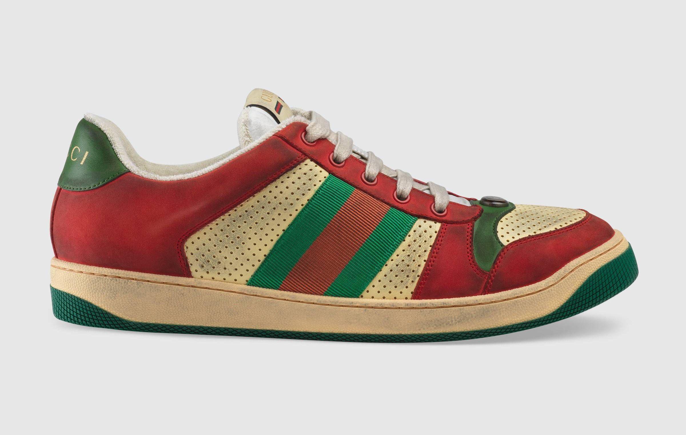 0ea21fa9726 Gucci. Gucci. Screener Leather Sneaker