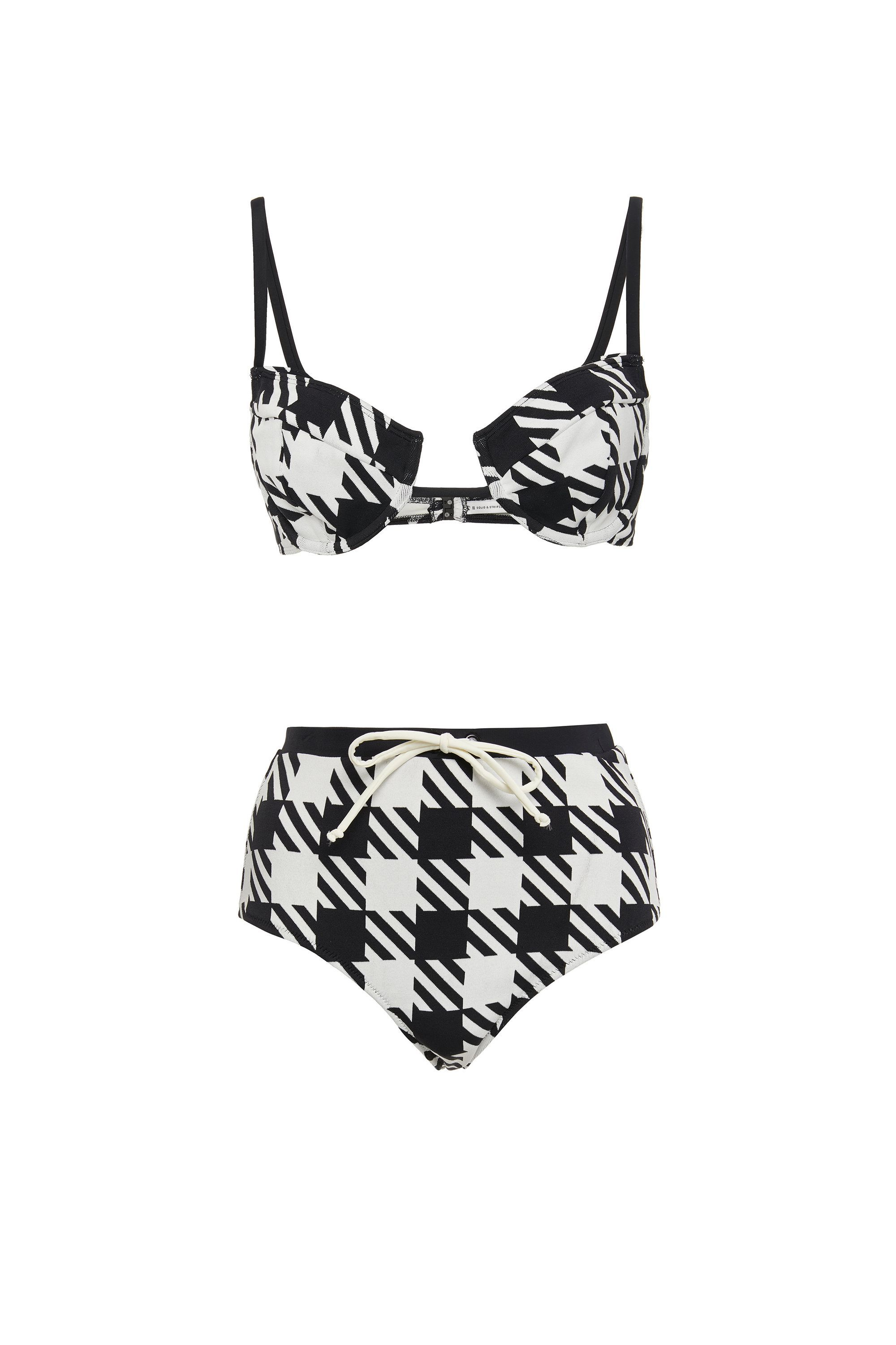 1adce17762c5c 23 Flattering High Waisted Bikinis for 2017- Retro High-Waisted Style  Swimsuits