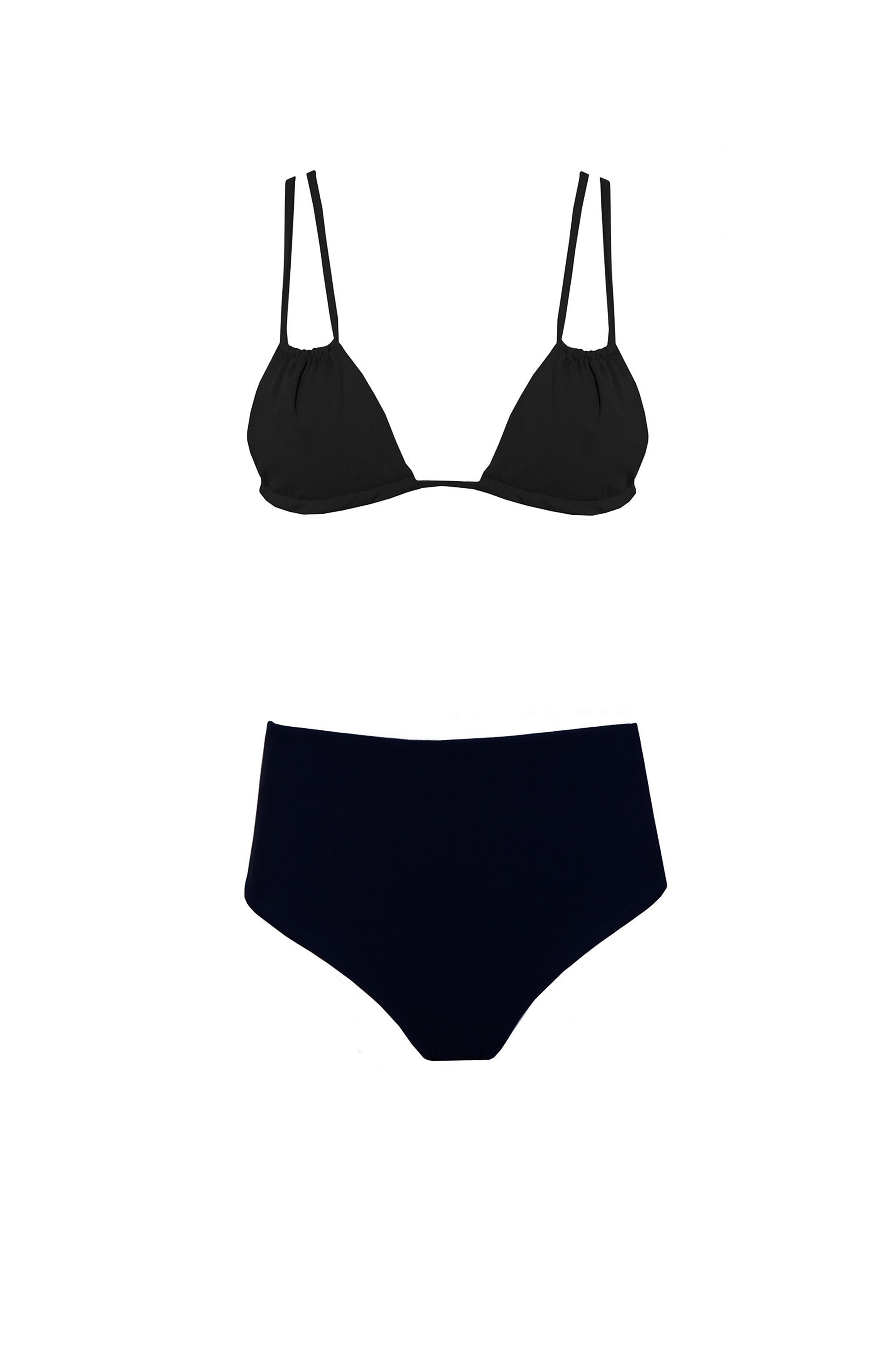 cb23f4ccba53d8 23 Flattering High Waisted Bikinis for 2017- Retro High-Waisted Style  Swimsuits