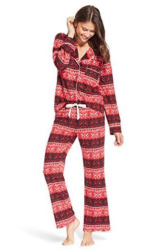 ac195850 Kathy Ireland. Kathy Ireland Womens Lounge Button Down Pajama Shirt and Pants  Set