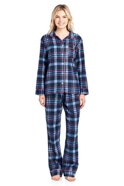 6009f2a9b0e3 Ashford   Brooks. Ashford   Brooks Women s Flannel Plaid Pajamas Long Pj Set