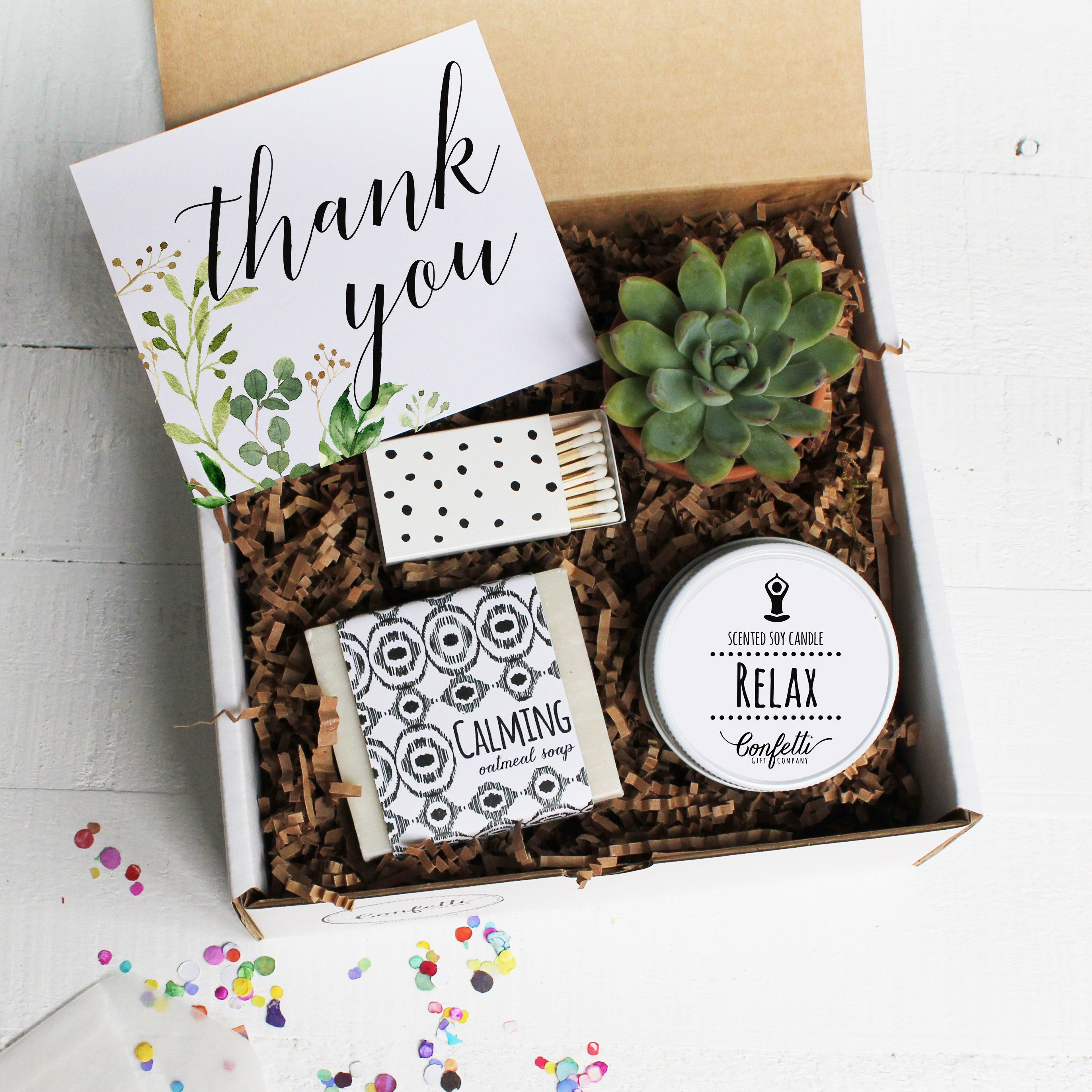 8c94d53edb3 Botanical Thank You Gift Box