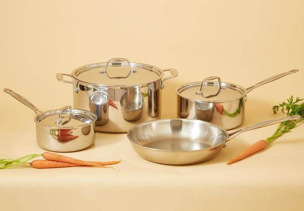 9 Best Stainless Steel Cookware Sets For 2019 Top Rated Stainless