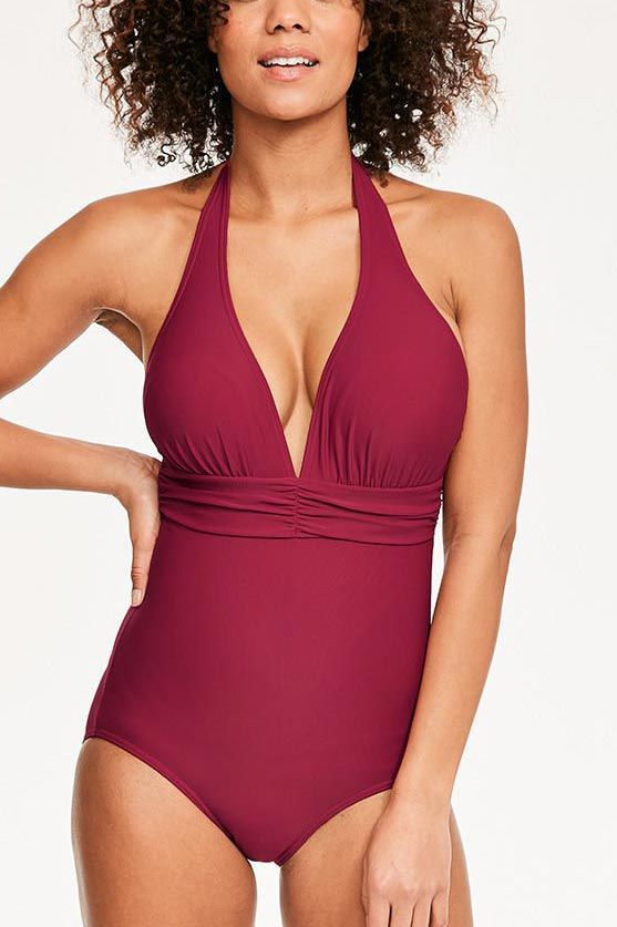 79806f8adf355 13 Slimming Swimsuits - Best Figure-Flattering Bathing Suits for Every Body  Type