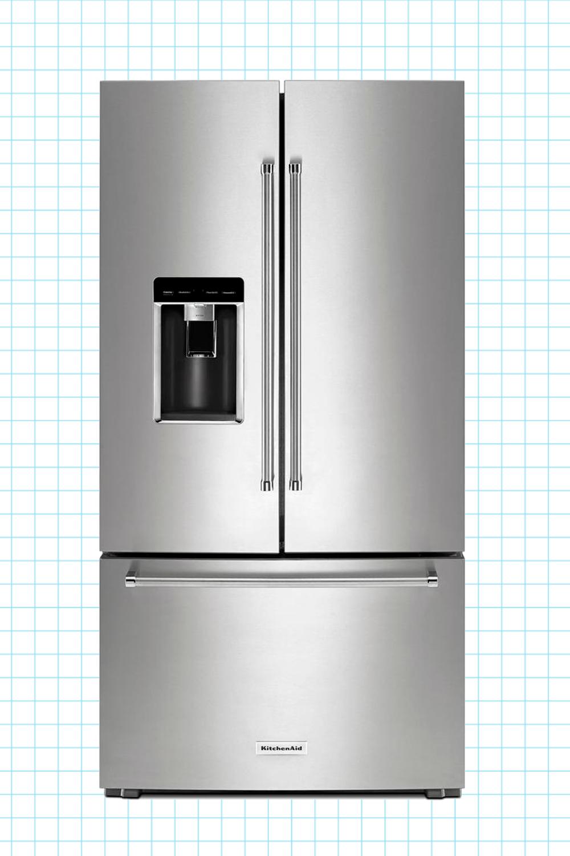 Counter depth refrigerator measurements