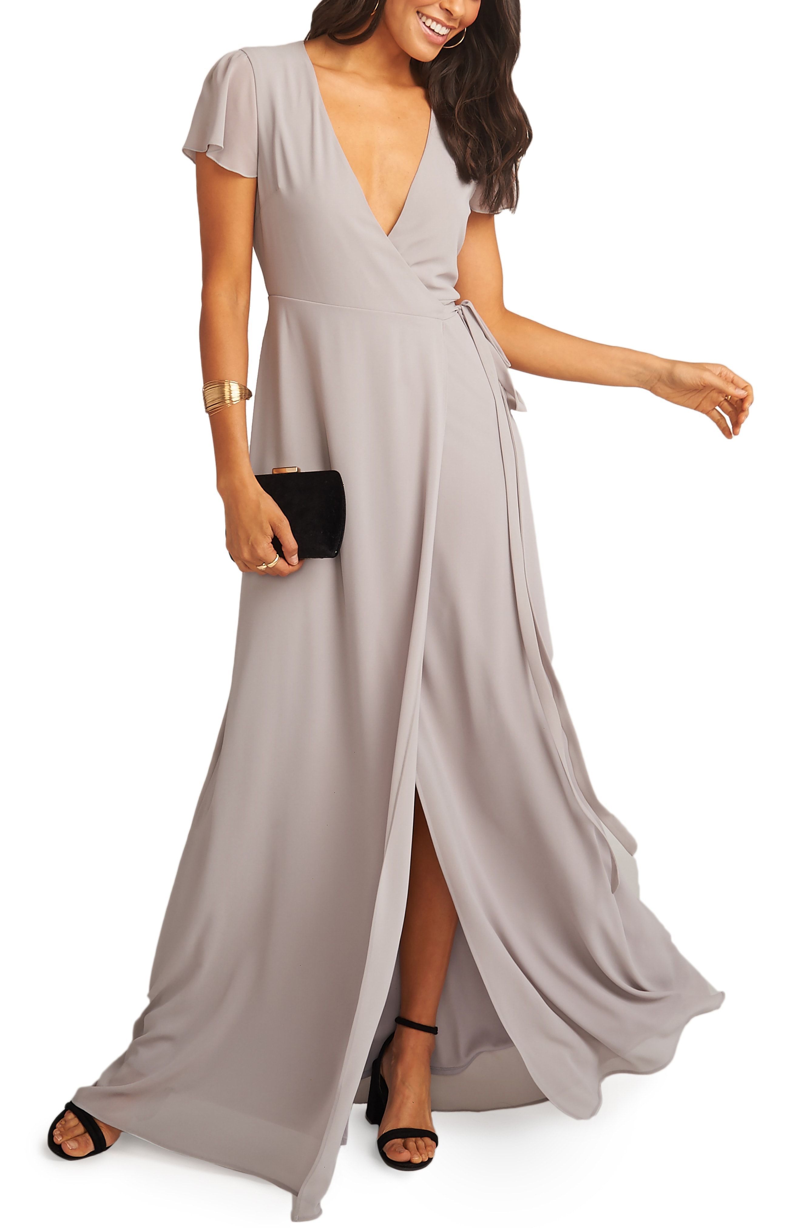 Noelle Wrap Dress