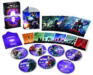 Marvel Studios Collector's Edition Box-Set - Phase 2 Blu-ray [Region Free]
