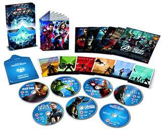 Marvel Studios Collector's Edition Box-Set - Phase 1 Blu-ray [Region Free]