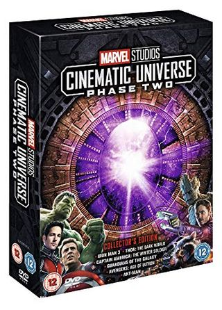 Marvel Studios Collector's Edition Box-Set - Phase 2 [DVD]