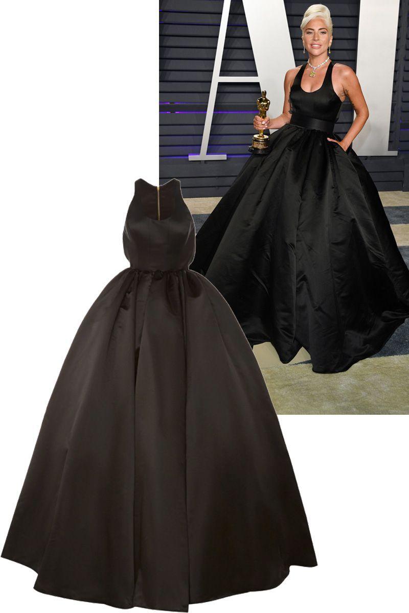 Lady Gaga Oscars Brandon Maxwell Gown - Oscars Gowns You Can Shop Online f87ead003