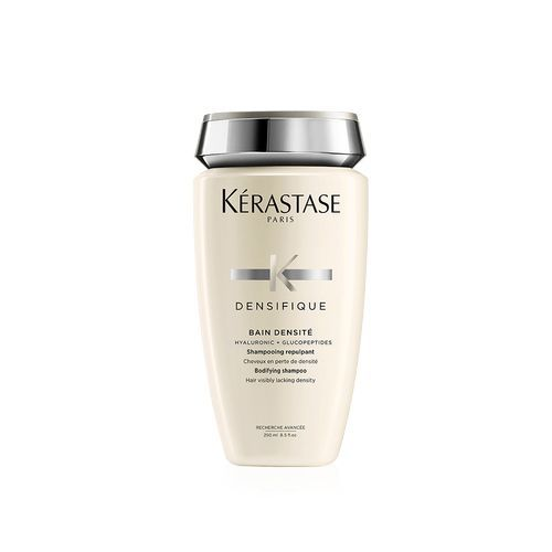 Kerastase Bain Densité Shampoo kerastase-usa.com $33.00 SHOP NOW This salon favorite shampoo is also the go-to of celebrity hairstylist Glen Coco Oropeza , whose clients include Chrissy Teigen, Rita Ora, and Paris Hilton. He always recommends this shampoo to his clients who have fine hair, or hair that lacks volume and density.